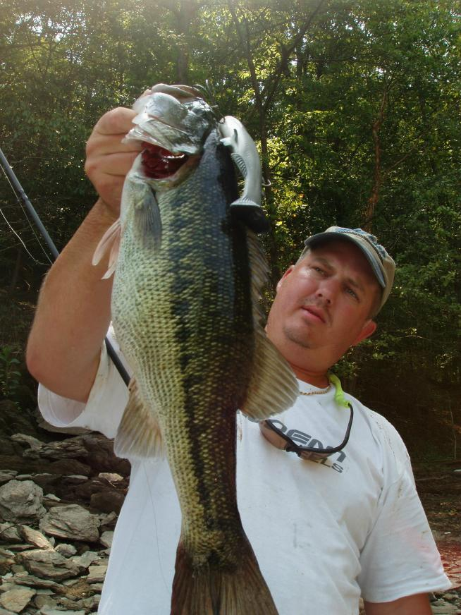 Lake Allatoona 6lb Huddleston Spotted Bass