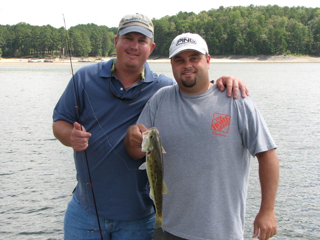 Allatoona Bass Fishing