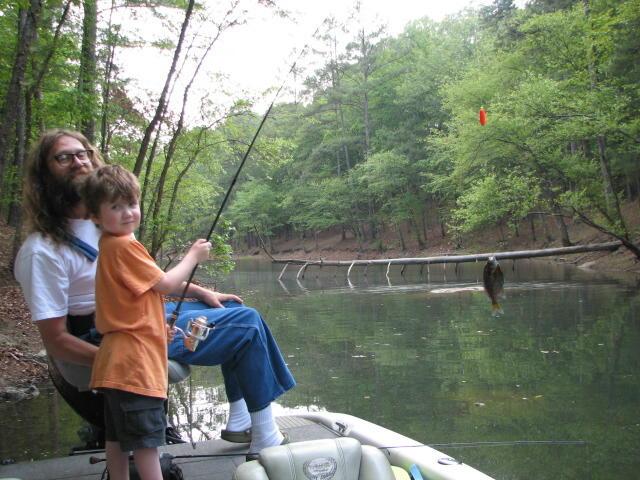 Lake Allatoona Bream Fishing